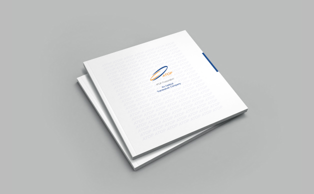 华拓光通信公司画册设计,宣传册设