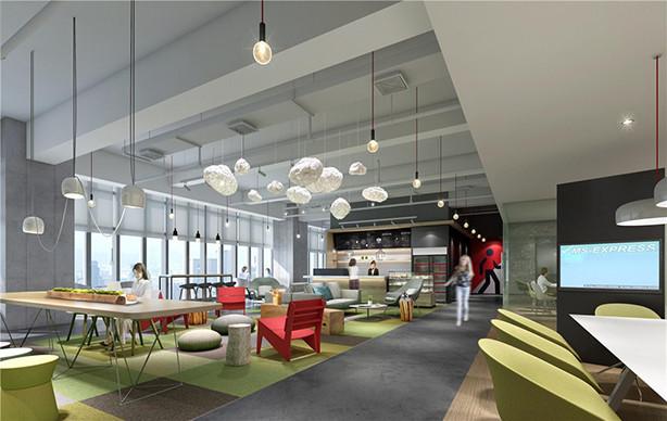 办公空间设计_办公楼设计办公室装