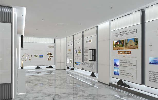 品牌展厅设计发展历程设计企业文