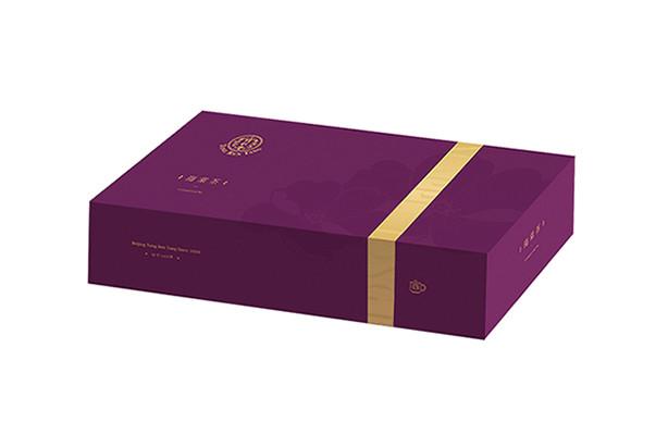 同仁堂海棠茶包装设计_保健茶品牌