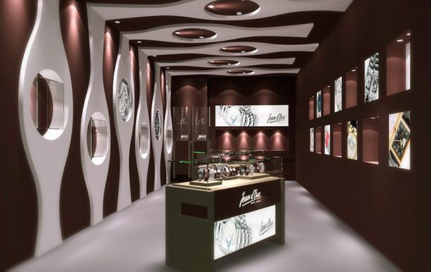 珠宝品牌SI设计专卖店设计_珠宝展