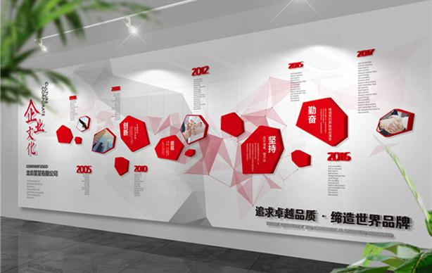 企业文化墙设计_企业形象墙设计制