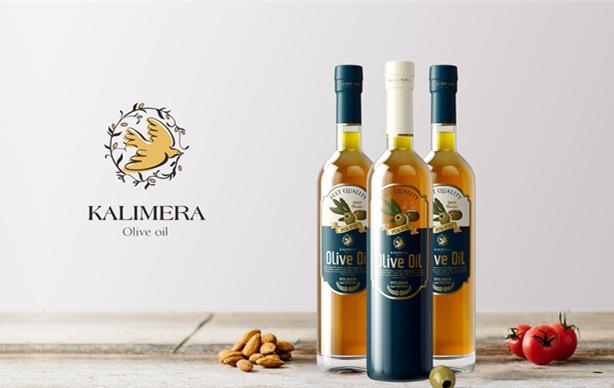 希腊KALIMERA橄榄油logo设计品牌设计