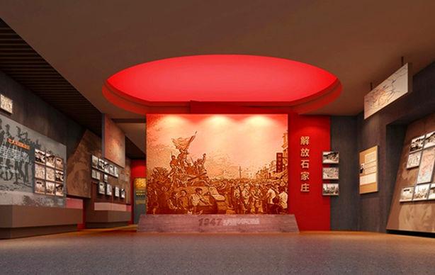 党建展厅设计,党建文化墙设计制作